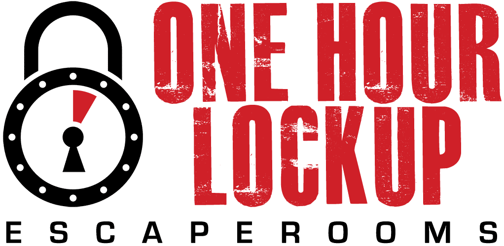 Logo One Hour Lockup escaperooms Naarden